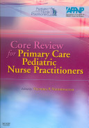 Core Review for Primary Care Pediatric Nurse Practitioners PDF