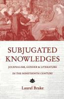Subjugated Knowledges PDF