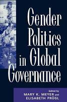 Gender Politics in Global Governance PDF