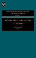 Developments in Litigation Economics