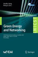 Green Energy and Networking PDF