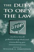 The Duty to Obey the Law PDF