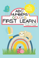 ABC Numbers Colors First Learn Learning Familly Time Books for 3 Year
