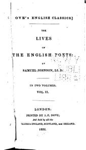 The Lives of the English Poets: Volume 2