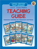 Little Critter First Readers Teaching Guide  Level 1 PDF