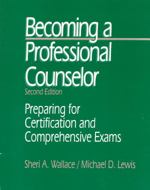 Becoming a Professional Counselor PDF