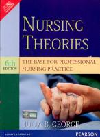 Nursing Theories  The Base for Professional Nursing Practice  6 e PDF