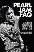 Pearl Jam FAQ PDF