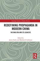 Redefining Propaganda in Modern China PDF