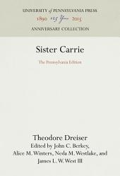 Sister Carrie: The Pennsylvania Edition