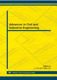 Advances in Civil and Industrial Engineering