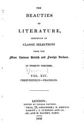 The Beauties of Literature: Consisting of Classic Selections from the Most Eminent British and Foreign Authors, Volume 14