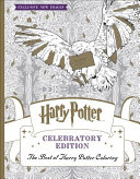 Harry Potter Coloring Book  Celebratory Edition Book