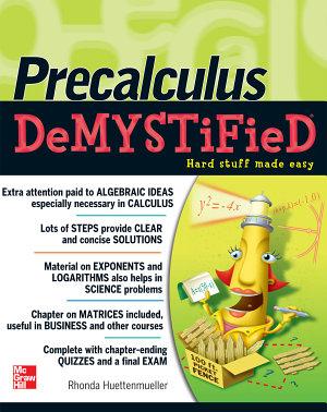 Pre Calculus Demystified PDF