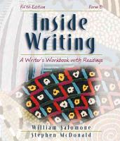 Inside Writing  A Writer s Workbook with Readings  Form B PDF