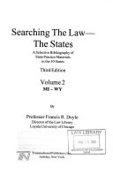 Searching the Law  the States PDF