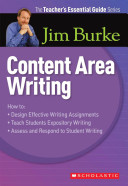 Content Area Writing Book PDF