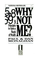 Why Not Me    9 Principles to Open a World of Wealth