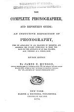 The Complete Phonographer and Reporter's Guide