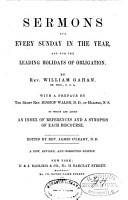Sermons for Every Sunday in the Year and for the Leading Holidays of Obligation PDF