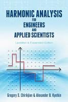 Harmonic Analysis for Engineers and Applied Scientists PDF