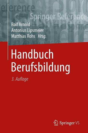 Handbuch Berufsbildung PDF