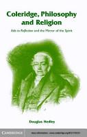 Coleridge  Philosophy and Religion PDF