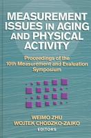 Measurement Issues in Aging and Physical Activity PDF