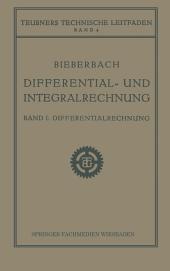 Differential- und Integralrechnung: Differentialrechnung, Ausgabe 2