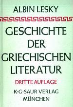 Geschichte der griechischen Literatur PDF