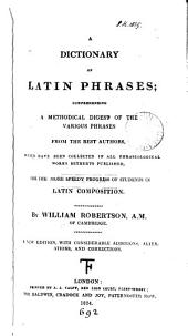A dictionary of Latin phrases