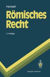 Römisches Recht: Ausgabe 2