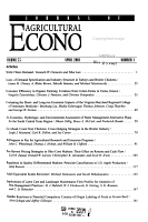 Journal of Agricultural and Applied Economics PDF