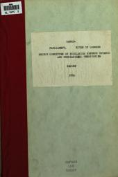 Report of the Select Committee on the Boundaries Between the Province of Ontario and the Unorganized Territories of the Dominion: With Appendix. Printed by Order of Parliament ...