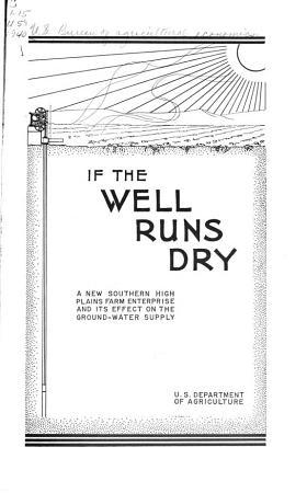 If the Well Runs Dry PDF
