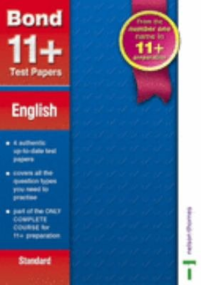 Bond 11  Test Papers