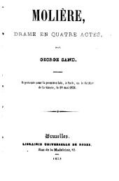 Molière: drame en quatre actes
