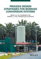 Process Design Strategies for Biomass Conversion Systems PDF