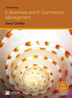 E business and E commerce Management PDF