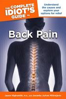 The Complete Idiot s Guide to Back Pain PDF
