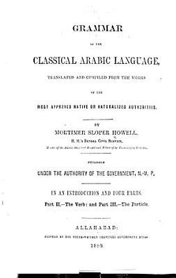 A    Grammar of the Classical Arabic Language PDF