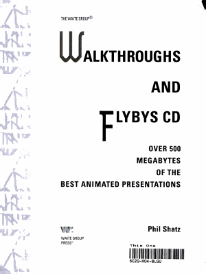 Walkthroughs and Flybys CD