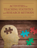 Activities for Teaching Statistics and Research Methods