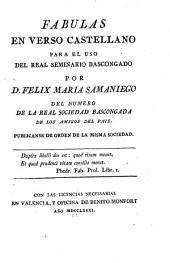 Fabulas en verso castellano