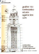 Nebraska State Publications Checklist