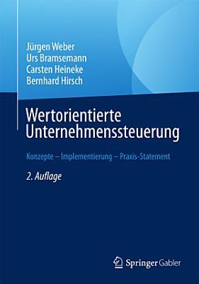Wertorientierte Unternehmenssteuerung PDF