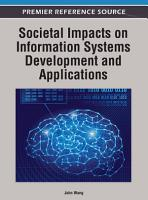 Societal Impacts on Information Systems Development and Applications PDF