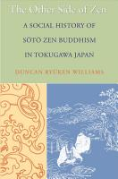 The Other Side of Zen PDF