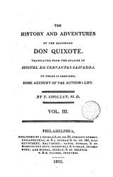 The History and Adventures of the Renowned Don Quixote,3