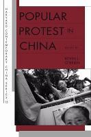 Popular Protest in China PDF